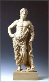 STATUETTE OF ASCLEPIUS