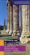 Ιστορικός χάρτης της Αθήνας (γαλλ.)