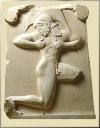 GRAVE STELE (hoplite runner)
