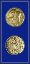 GOLD STATER OF ALEXANDER III (THE GREAT)