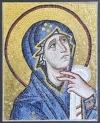 Ψηφιδωτό πορτραίτο της Παναγίας