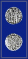 SILVER GROSSO OF RANIERI ZENO (Doge of Venice)