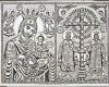 Η Παναγία Οδηγήτρια και οι άγιοι Κωνσταντίνος και Ελένη