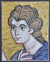 Ψηφιδωτό πορτραίτο Αγ. Ιωάννη